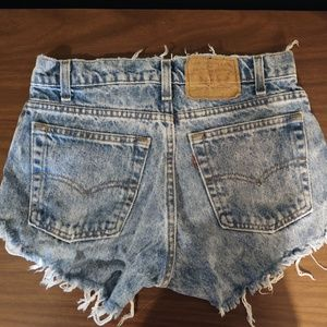 Levi's Shorts - Vintage Levi Jean Shorts